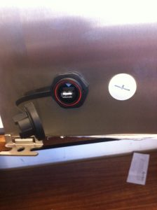 External USB port
