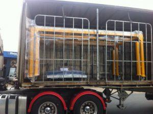 CS 1200 AKL pallet dimensioner Loaded on a truck image