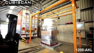 CubiSCan AKL1200 in action