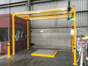 CubiScan Pallet Scanning Dimensioning Weighing System