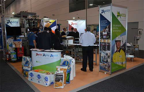AccuWeigh at AUSPACK 2015