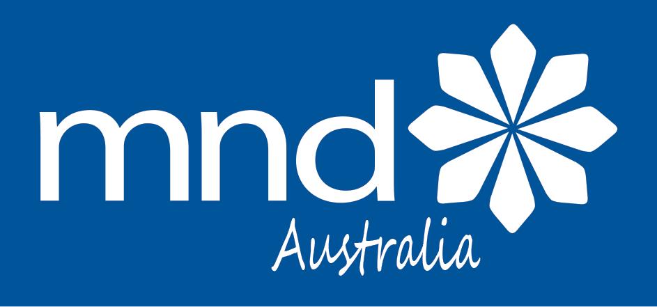 MND Australia Logo
