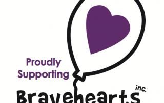 Proudly Supporting Bravehearts inc - Educate, empower and protect our kids