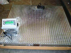 AccuWeigh A500 Pallet Scale