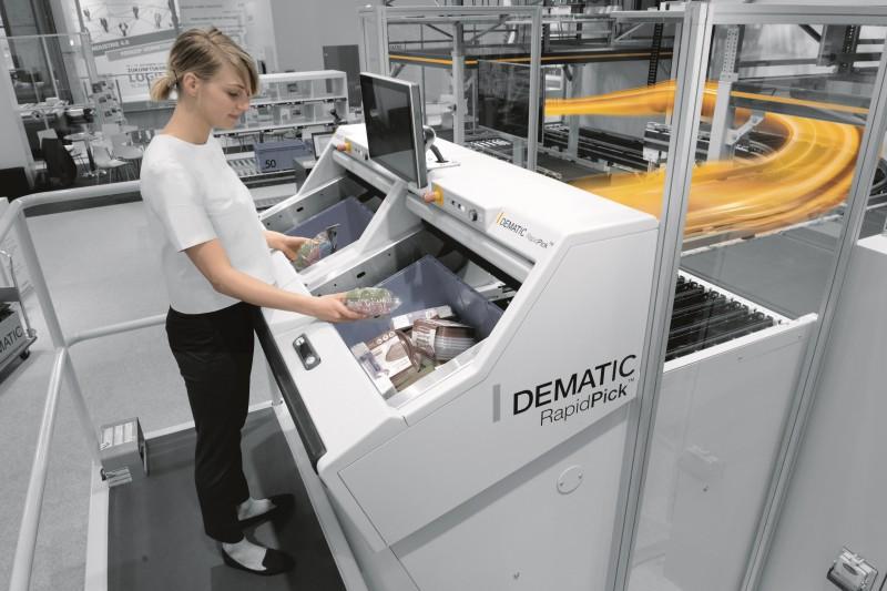 dematic rapidpick system logimat