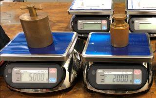 AccuWeigh waterproof scales