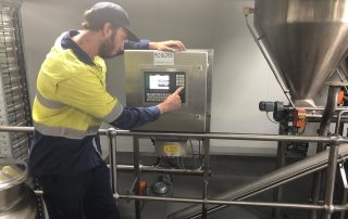 AccuWeigh recently installed a new, state-of-the-art batching system for Castlemaine Perkins' brewery