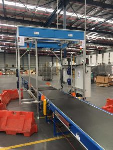 CouriersPlease SCACO CubiScan Parcel Dimensioning Weighing