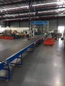 CouriersPlease Brisbane Parcel Dimensioning Weigh Scan SCACO