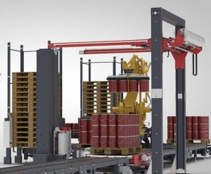 Complete Turnkey Palletising Lines