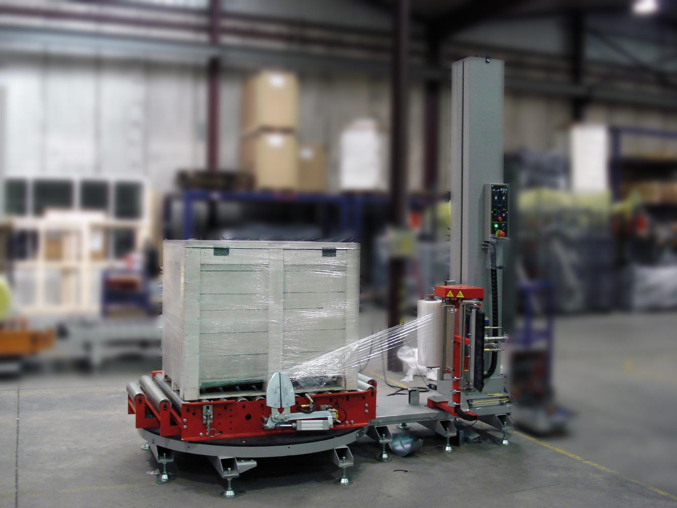 Diverseco Pallet Wrapping Machine