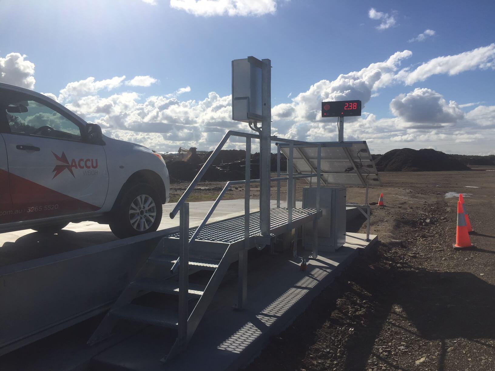 Cape Byron Power AccuWeigh installation