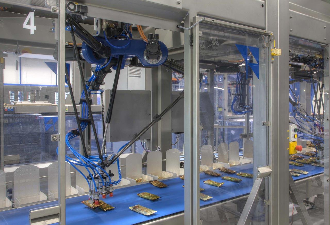Pick and place robotics