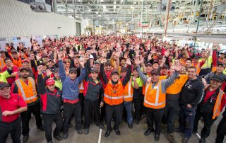 Toyota staff on final day of production at Altona plant