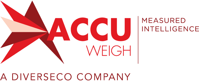 AccuWeigh Logo - Measured Intelligence - A Diverseco Company