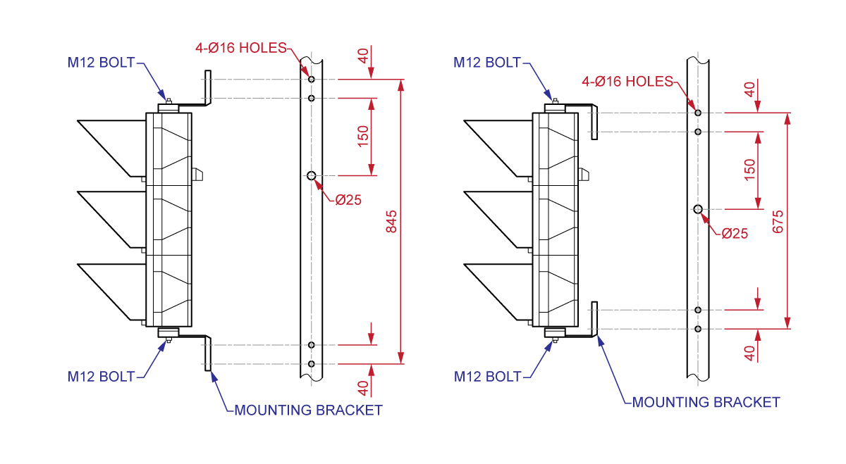 InterTechnomics Traffic Control Lights Drawings