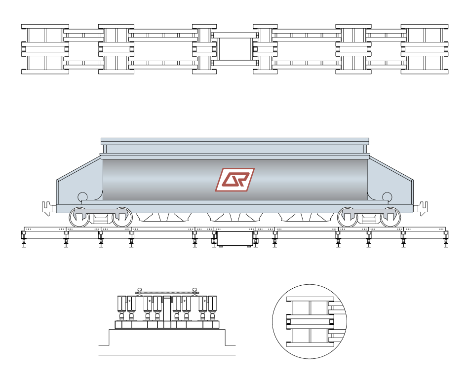 AccuWeigh Locomotive Weighbridge Drawing