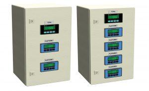 Weighbridge summing indicator cabinets