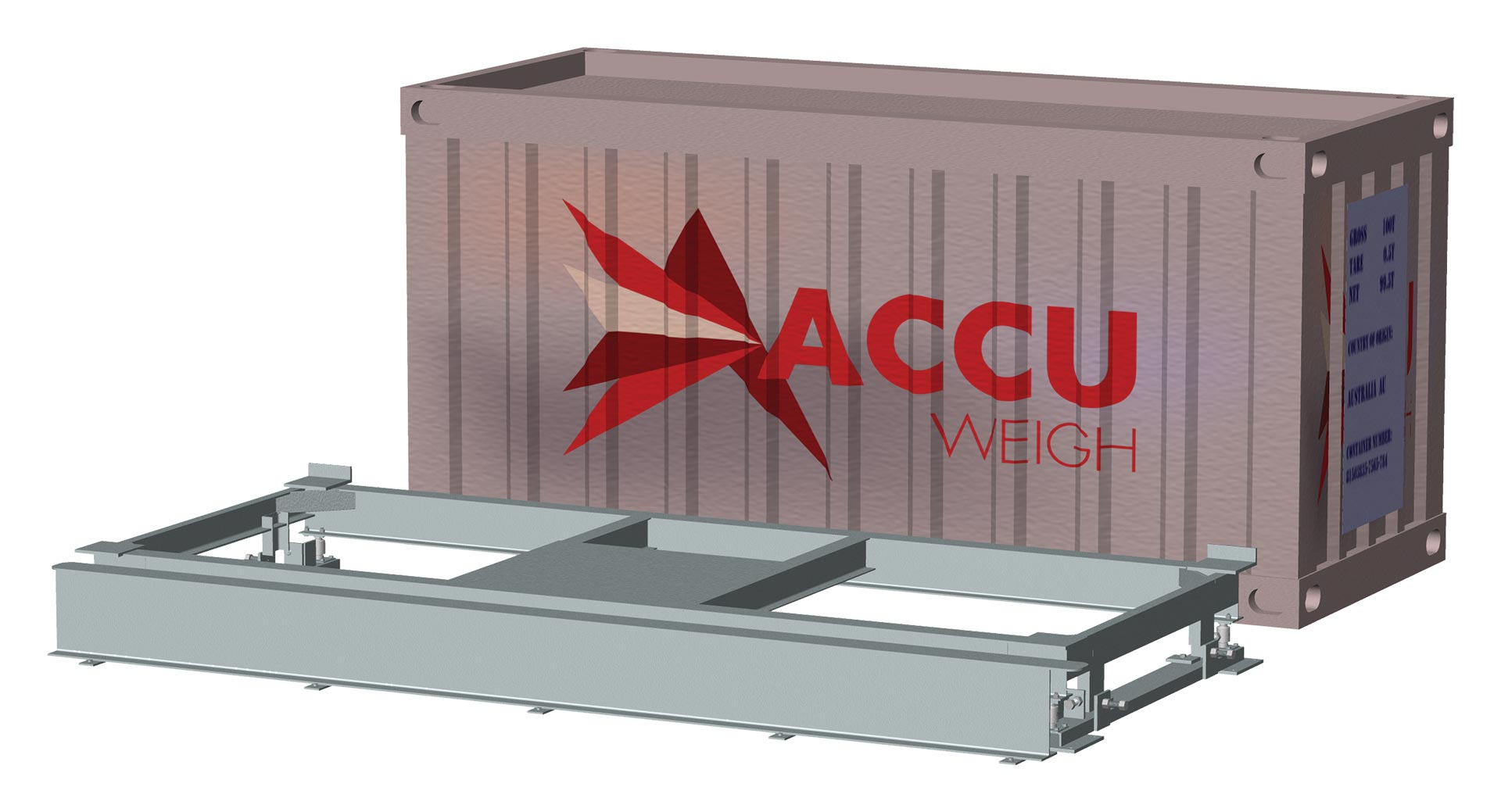 AccuWeigh Shipping Container Weigher