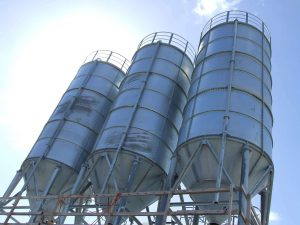 Silos in Bulkweighing application