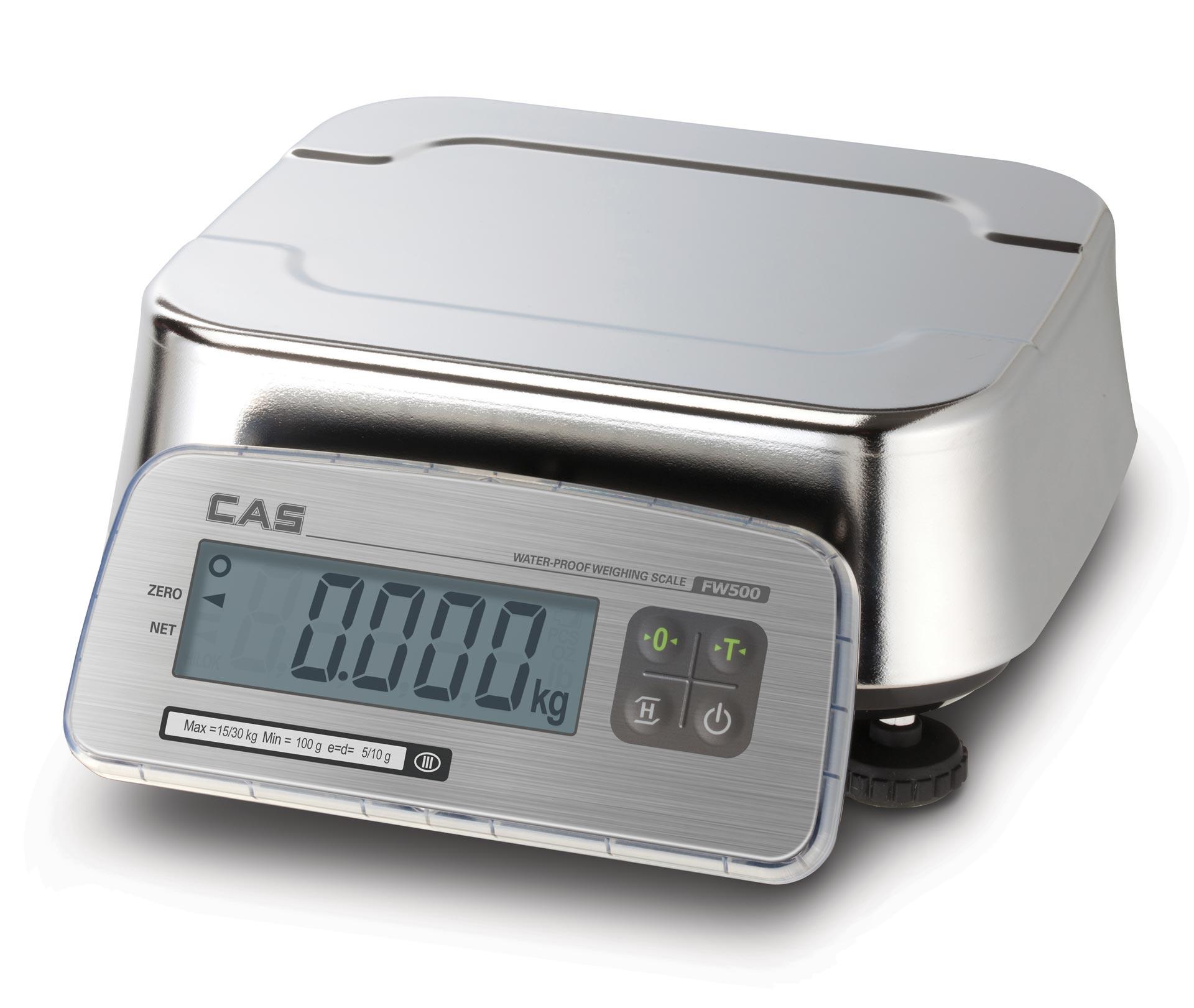 CAS FW-500 LCD Waterproof Scale
