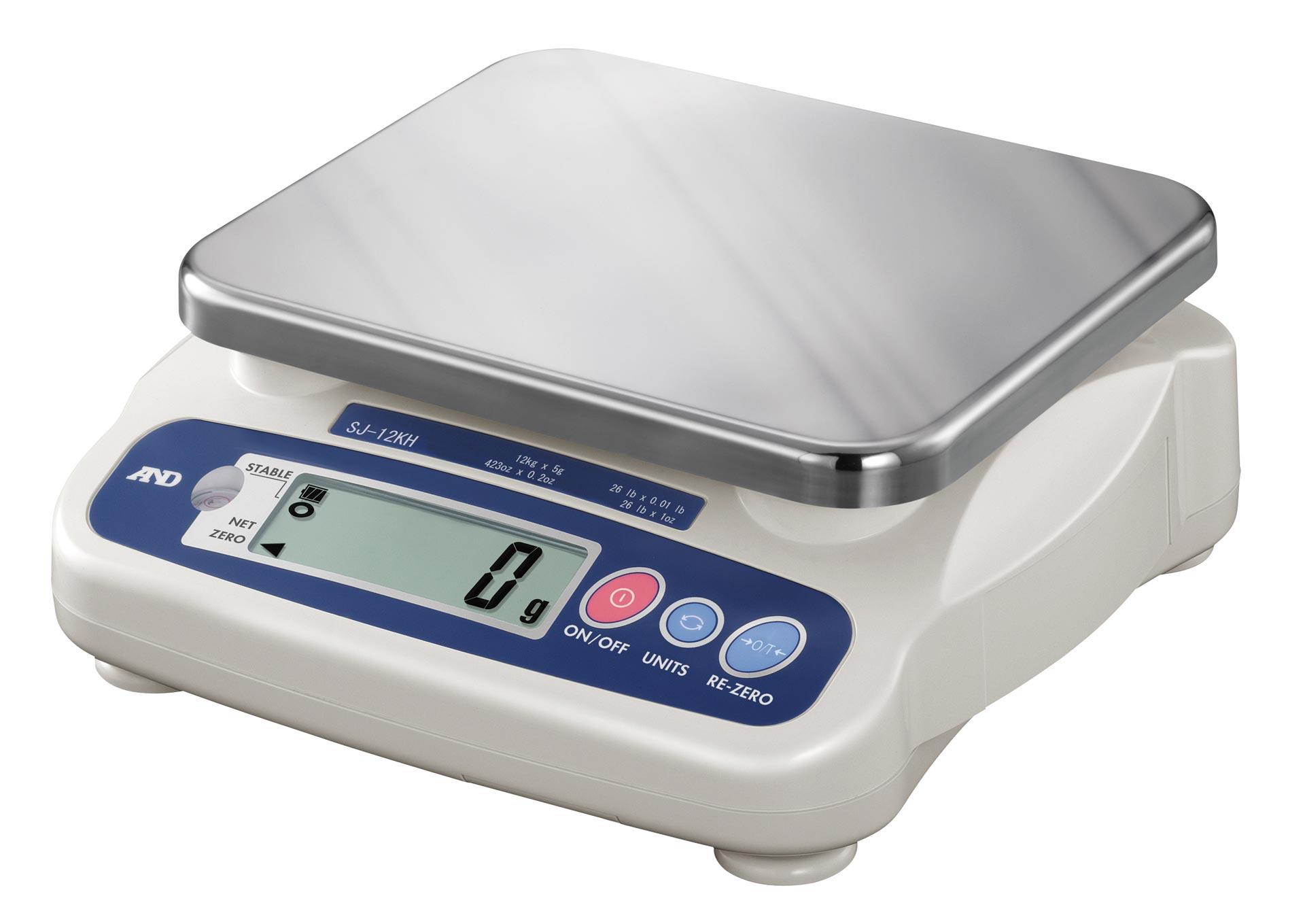 A&D SJ-12KH Compact Scale