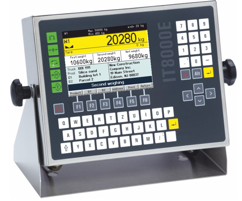 IT8000E Truck Weighing Terminal