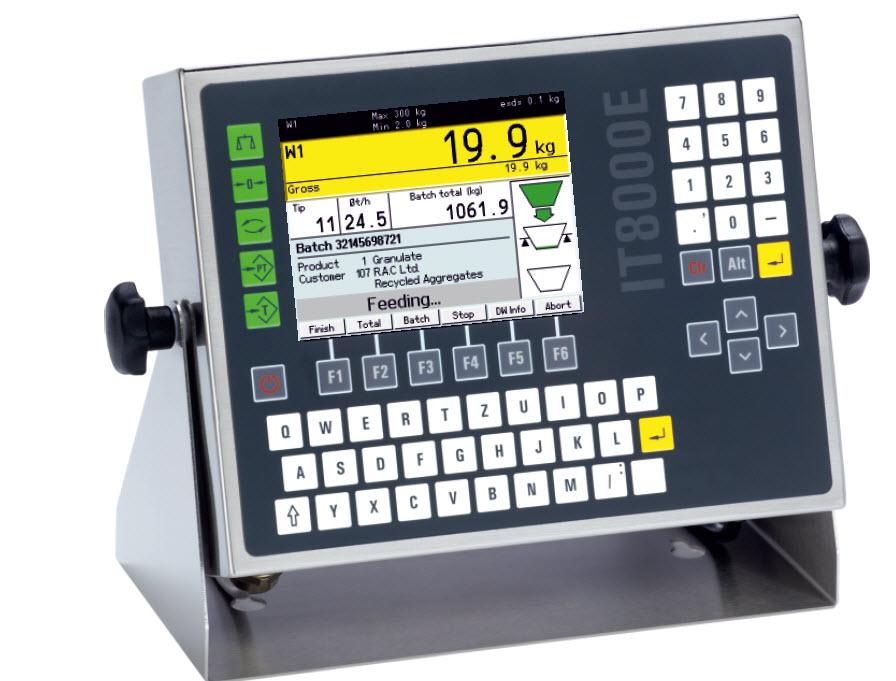 IT800E Bulk Weighing Terminal