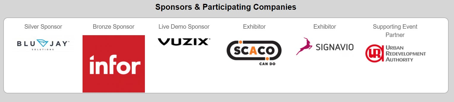 Sponsors and participating companies