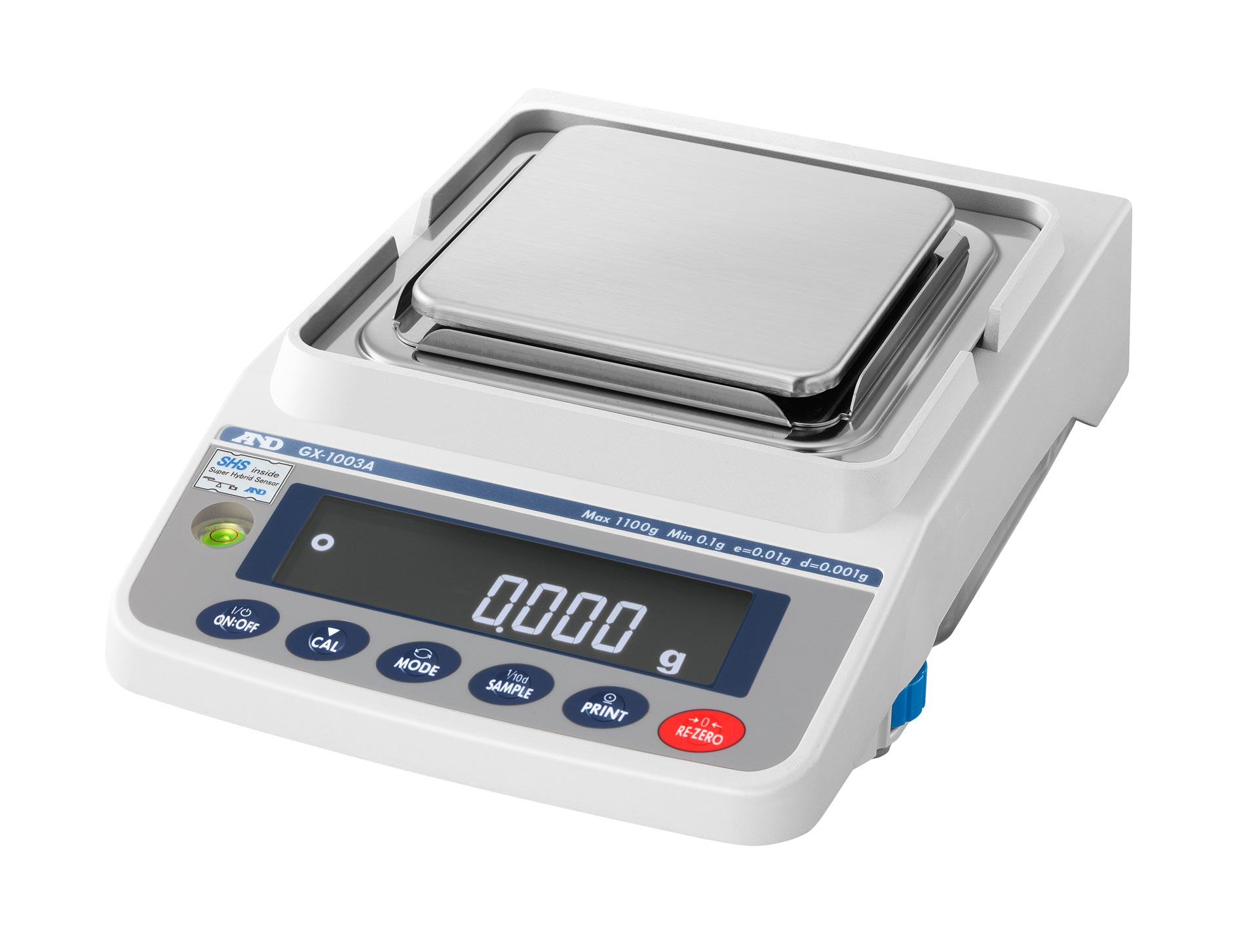 AND GX-1003A Trade Approved Precision Scale