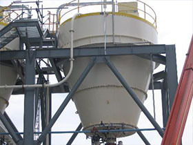 Silo Scales for heavy industrial weighing applications
