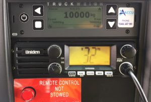 Truckweigh display