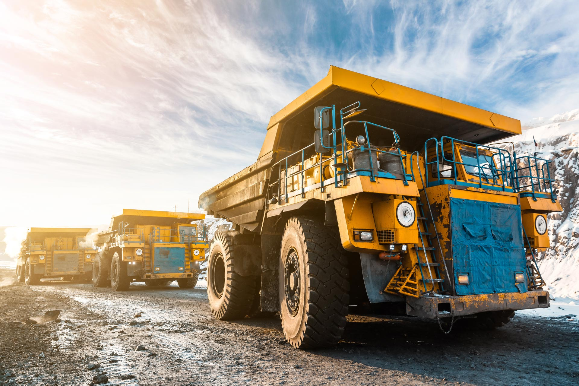Off-Highway mining trucks