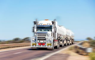 Road Train protected by TruckWeigh 2 Overload Protection