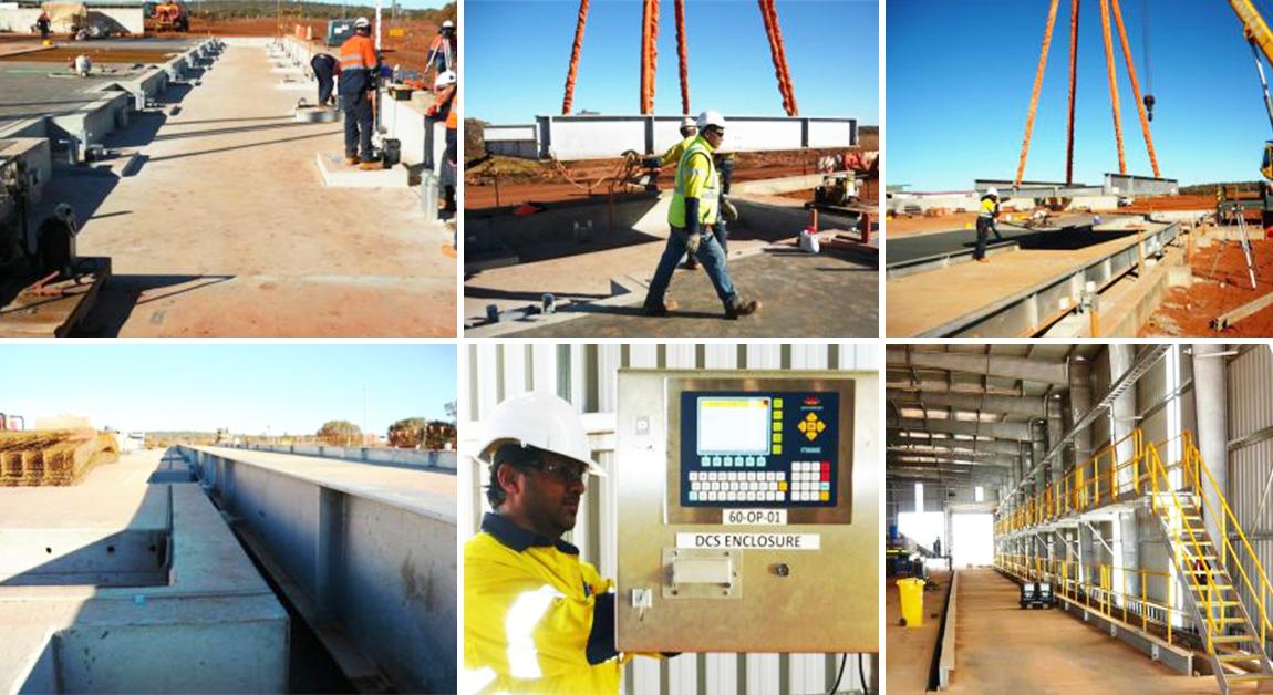 Multi deck weighbridge installation overview