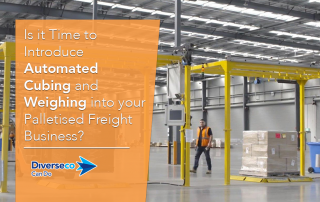 Is it Time to Introduce Automated Cubing and Weighing into your Palletised Freight Business