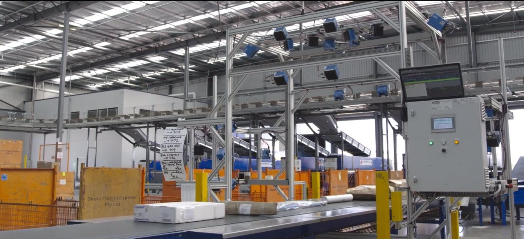 Conveyor sortation system