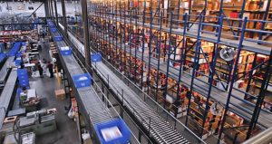 A warehouse used for ecommerce fulfillment