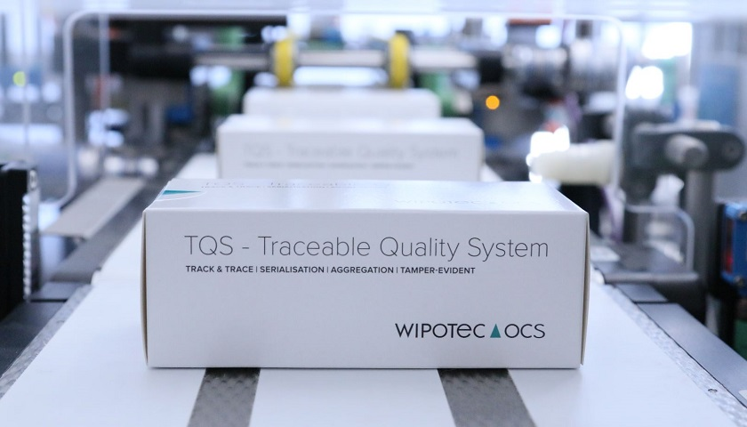Serialisation compliance wipotec