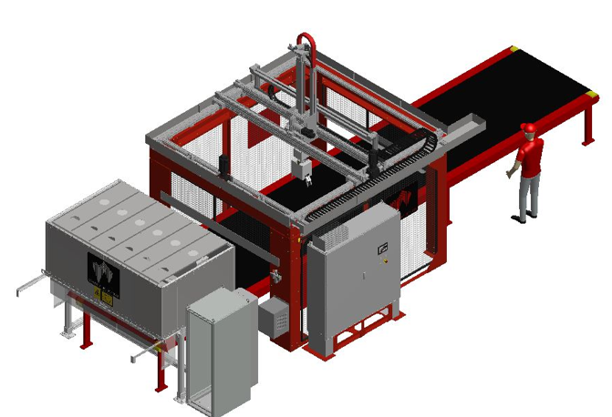 Heavy Duty Gantry Robot