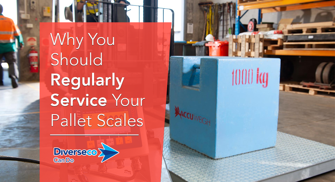 Why you should regularly service your pallet scales