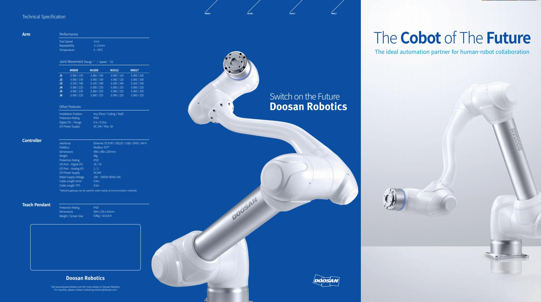Doosan Robotics M Brochure