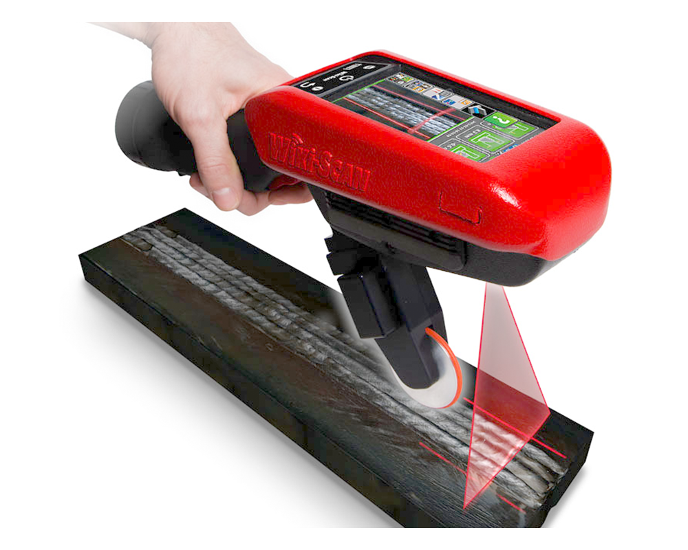 Wiki-Scan Handheld Weld Quality Inspection Device 1