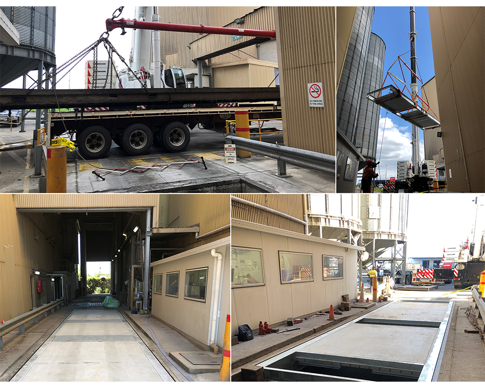 Weighbridge replacement and upgrade