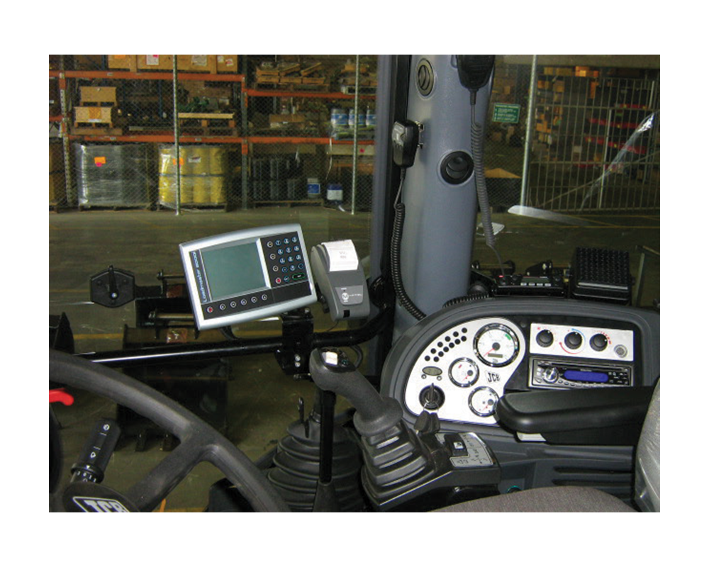 Loader Scales Kit In Vehicle