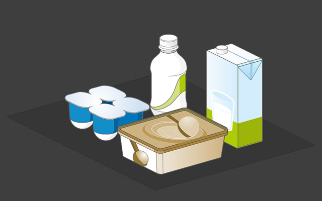 x ray products dairy products