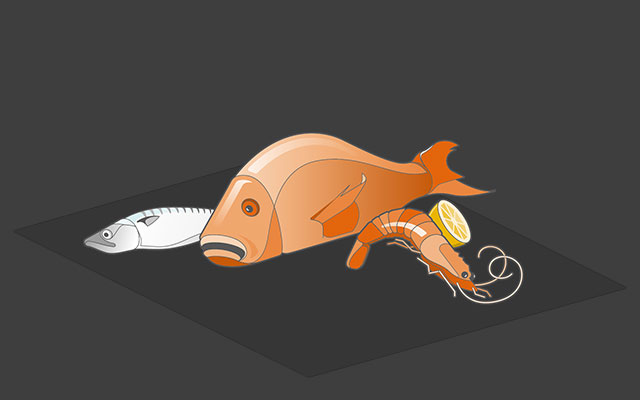 x ray products fish and seafood