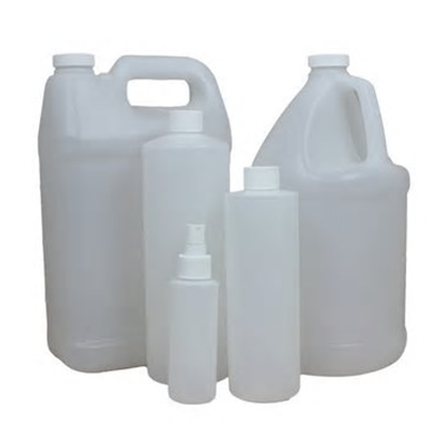 liquid containers for use in packaging machine