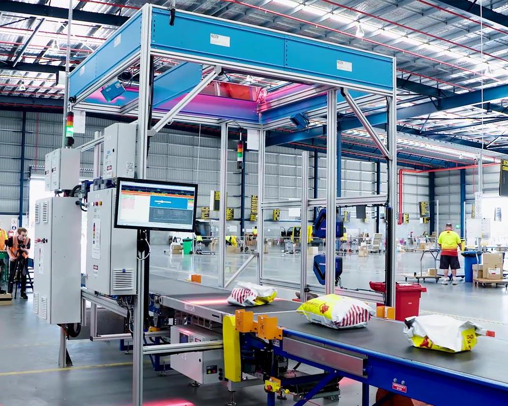 Scanning equipment parcels diverseco