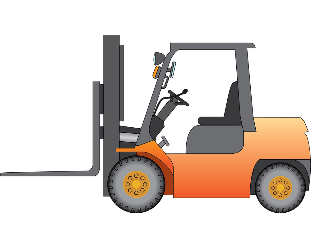 forklift onboard weighing system